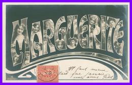 Prénom - MARGUERITE - Multitudes De Portraits De Femmes Dans Les Lettres - 1905 - Firstnames
