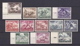 Deutsches Reich - 1943 - Michel Nr. 831/842 - Postfrisch - 29 Euro - Deutschland