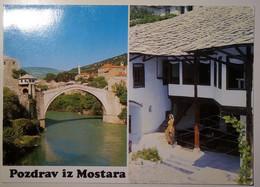 Yugoslavia, Bosnia - Bosna - Mostar - Pozdrav Iz Mostara - Yugoslavia
