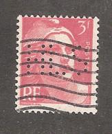 Perforé/perfin/lochung France No 716 HLS Librairie H. Le Soudier - Perforadas