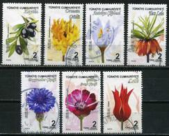 Turkey 2018 - Mi. 4411-17 O, Flowers | Plants (Flora) - Used Stamps