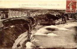 Biarritz - Vue D' Ensemble - Les Falaises - Biarritz