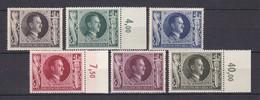 Deutsches Reich - 1943 - Michel Nr. 844/849 - Postfrisch - Deutschland