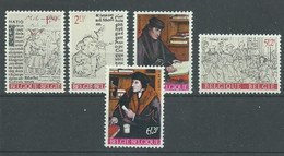 200036503  BELGICA  YVERT    Nº  1427/31  **/MNH - Unused Stamps