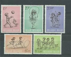 200036504  BELGICA  YVERT    Nº  1399/1403  **/MNH - Unused Stamps