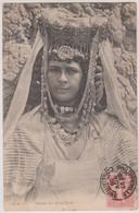 4 CPA  Algérie  Femmes Des Ouled Nails Magnifiques Coiffures Er Bijoux Pièces   Ed ND Phot 195A 205A  206 A 208A  TBE - Women