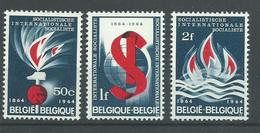 200036515  BELGICA  YVERT    Nº  1290/2  **/MNH - Unused Stamps