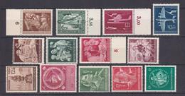 Deutsches Reich - 1944 - Michel Nr. 865/872 + 886/887 + 894/896 - Postfrisch - Deutschland