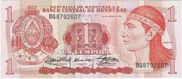 Honduras 1 Lempira 30-3-1989 Pk 68c UNC Ref 4622-1 - Honduras