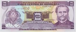 Honduras 2 Lempiras 17-4-2008 Pk 90.1 UNC Ref 947-1 - Honduras