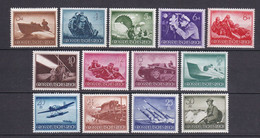 Deutsches Reich - 1944 - Michel Nr. 873/885 - Postfrisch - 22 Euro - Deutschland