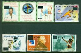 PAPUA NEW GUINEA 2001 Mi 905/zf/742 + 906-09** Different Motives - Overprint [A7264] - Briefmarken