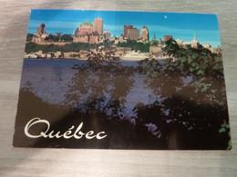 QUEBEC CITY - VUE PANORAMIQUE DE LA VIEILLE CAPITALE - - Québec - La Cité