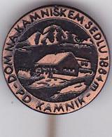 SLOVENIA  - PIN  --  P.D. KAMNIK  --  DOM NA KAMNISKEM SEDLU  --  CLIMBING SOCIETY, MOUNTAINEERING, ALPINISM - Alpinisme, Beklimming