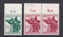 Deutsches Reich - 1944 - Michel Nr. 897/898 P OR - Postfrisch - Unused Stamps