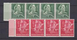 Deutsches Reich - 1944 - Michel Nr. 894/895 Viererstreifen Rand - Postfrisch - Deutschland