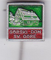 SLOVENIA  --  PIN  --  GORSKI DOM SV. GORE  --  CLIMBING SOCIETY, MOUNTAINEERING, ALPINISM - Alpinisme, Beklimming