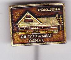 SLOVENIA  --  PIN  --   POKLJUKA  --  CLIMBING SOCIETY, MOUNTAINEERING, ALPINISM - Alpinisme, Beklimming