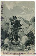 - VAL D'Aoste - Courmayeur - Bersiglieri, Cyclistes Au Glacier De La Branva, Rare, écrite, TBE, Scans; - Altre Città