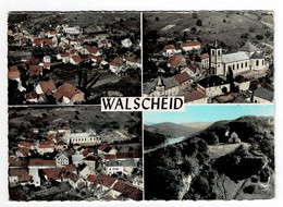 WALSCHEID  57  Multivues Avec 4 Vues Aeriennes 1962 - Otros Municipios