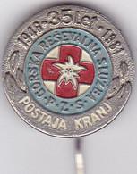 SLOVENIA -  PIN  --  GORSKA RESAVALNA SLOZBA -  POSTAJA KRANJ  --   CLIMBING SOCIETY, MOUNTAINEERING, ALPINISM - Alpinisme, Beklimming