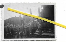 16 001 ANGOULEME BAHNHOF GARE CONVOI SOLDATS ALLEMANDS 1940 / 1944 - Angouleme