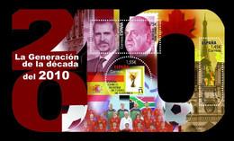 Spain 2020 Mih. 5476/78 (Bl.346) Generation 2010's. Kings. Football World Champions. Notre-Dame De Paris Fire MNH ** - 2011-... Ongebruikt