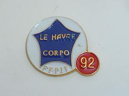 Pin's PETANQUE, LE HAVRE CORPO F.F.P.J.P. - Bocce