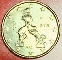 ITALIA - 2019 -  Moneta - Scultura Di Umberto Boccioni, Futurista - Euro - 0.20 - Italy