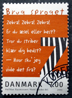 Denmark 2001 European Year Of Languages,   MiNr.1272  (O)     ( Lot  D 767 ) - Danimarca