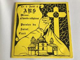 Le 4 Aout à ARS (Ain) Messe Chants Religieux, Paroles Du Saint Curé LP - Religion & Gospel