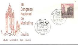 MATASELLOS 1973 SEVILLA - 1971-80 Storia Postale