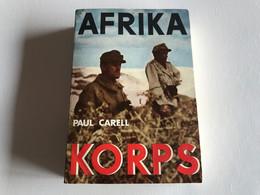 AFRIKA KORPS - 1960 - Paul CARELL - War 1939-45