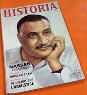 Historia Nasser   Novembre 1966   N° 240 (240X160)mm - History