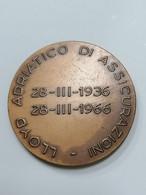 1966  Lloyd Adriatico Di Assicurazioni Lorioli Assicurazione - Italy