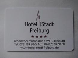 Germany Hotel Key, Hotel Stadt Freiburg (1pcs) - Hotelkarten