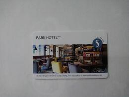 Germany Hotel Key, Park Hotel Seaside Leipzig - Zu Gast Bei Freunden , 5 18-06 AI (1pcs) - Hotelkarten
