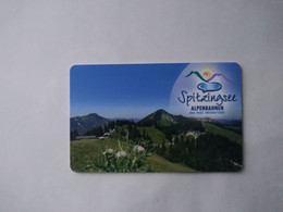 Germany Hotel Key, Arabella Alpenhotel Am Spitzingsee, Schliersee (1pcs) - Hotelkarten
