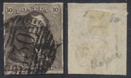 "épaulette - N°1 Bien Margé Obl P130 ""Wavre"" - 1849 Epauletten"