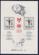 - Czechoslovakia 1989 -  Block MNH** - Sin Clasificación