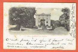 217 P - Spa Boulevard Des Anglais 1903 - Obl Spa Sur 56 Vers Denderleeuw - Spa