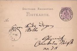 Entier 02.01.1877 - Brieven En Documenten