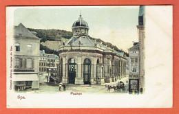 217 P - Spa - Pouhon Par Celestin Debrus 1903 - Obl Spa Sur 53 Vers Denderleeuw - Spa