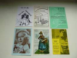 Beau Lot De 20 Cartes Du Salon ( Bourse ) De La Carte Postale    Mooi Lot Van 20 Kaarten Van Beurs Verzameling - 5 - 99 Postcards