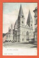 217 P - Spa L'Eglise N°210 Couleur - Obl Spa 1902 Sur 53 Vers Denderleeuw - Déposé H.M.Uccle - Spa