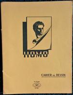 Cahier De DESSIN - HOMO - 16 Pages Jaune . - Transport
