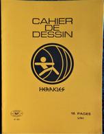 Cahier De DESSIN - Héraklès - 16 Pages Jaune .. - Transport