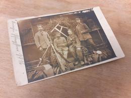 FELDPOST - KGL. SAECHS. FERNSPRECH DOPPELZUG 192 - 1916 - Nach NUERNBERG - RAUCHENDE SOLDATEN - GEWEHRE - Guerra, Militares