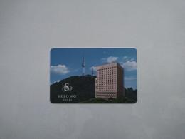 South Korea Hotel Key, Sejong Hotel, Seoul,  (1pcs) - Hotelkarten