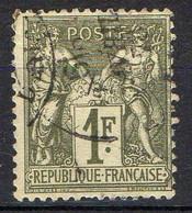 FRANCE ( TYPE SAGE ) : SPINK/MAURY 2019 , N°  72  N/B  TIMBRE  BIEN  OBLITERE , A  SAISIR . LOS - 1876-1878 Sage (Tipo I)